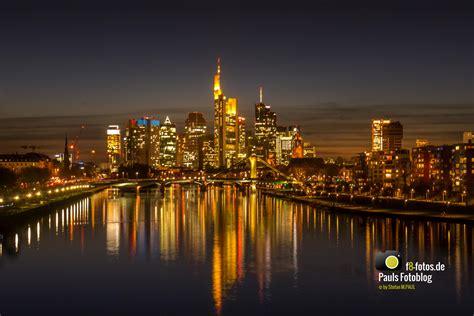 Frankfurt zur blauen Stunde  Pauls Fotoblog