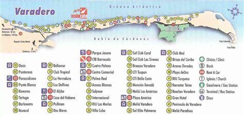 map varadero cuba holiday map  holidaymapqcom