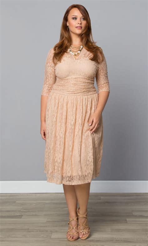 size lace dress swinging symphony dress  kiyonna