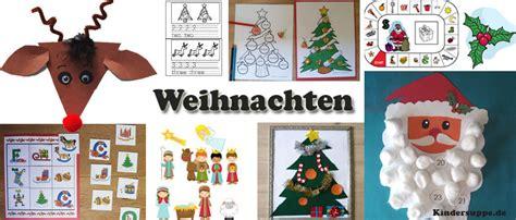 Weihnachten Kindergarten Und Kita Basteln Und Spiel-ideen