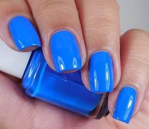 25 best ideas about Neon Blue Nails on Pinterest