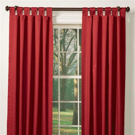 Solid Insulated Tab Curtains  Sturbridge Yankee Workshop