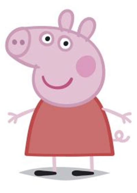 pin peppa pig cake topper nz george template cake  pinterest