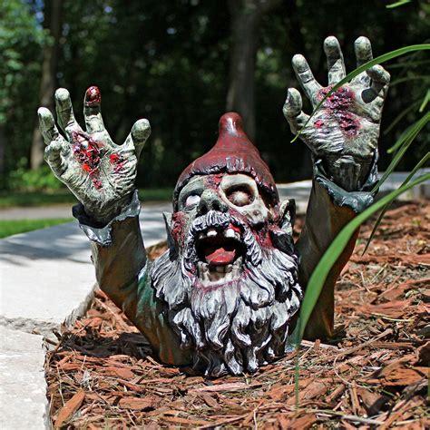 gnombie undead garden gnome the green
