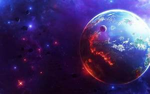 Planet Space Art wallpaper