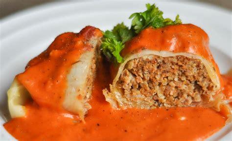 cabbage rolls cabbage rolls with tomato cream sauce