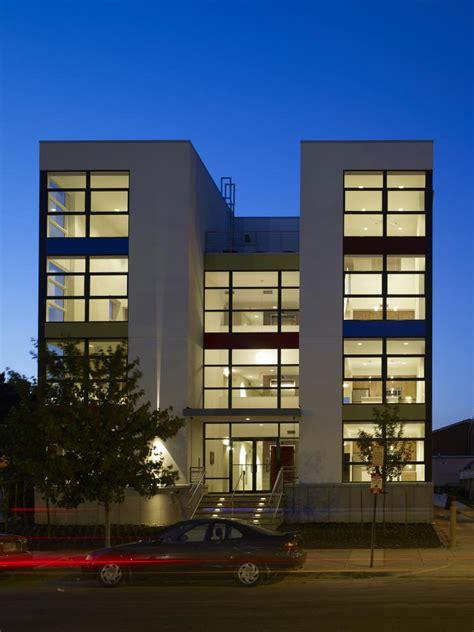 contemporary front elevation  commercial building joy