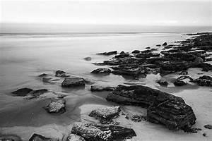Tableau Photo Noir Et Blanc : tableau noir et blanc plage izoa ~ Melissatoandfro.com Idées de Décoration