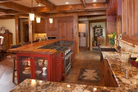 rustic kitchen island designs 10 rustic kitchen island designs that are amazing housely 4999