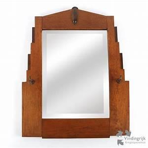 Spiegel Art Deco : tweedehands spiegel in art deco lijst vindingrijk ~ Whattoseeinmadrid.com Haus und Dekorationen