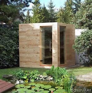 die edle sauna fur ihren garten oder ihre dachterrasse With französischer balkon mit sauna selber bauen im garten