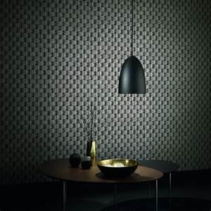 Erismann Brix 2 Wallpaper Charcoal (6942
