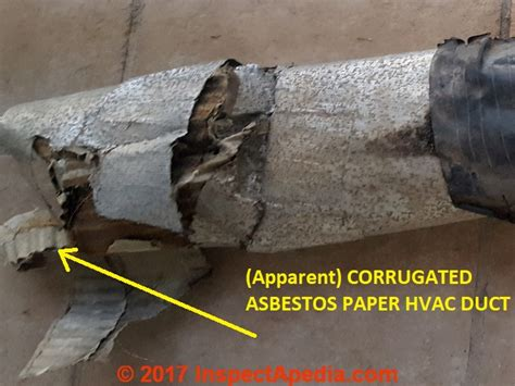 asbestos hvac ducts  furnaces  guide