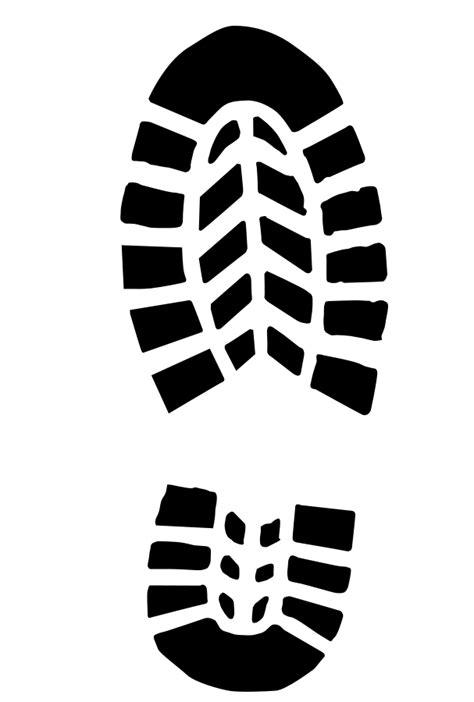 sneaker footprint clipart clipartfest clipartix