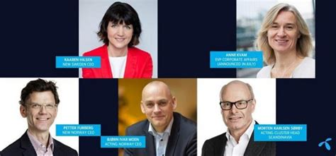 Telenor Announces Changes In Group Executive Management