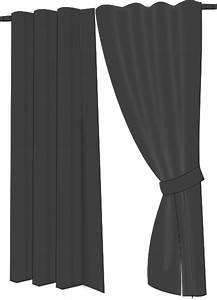 Grey drapes clip art at clkercom vector clip art online for Gray curtains png