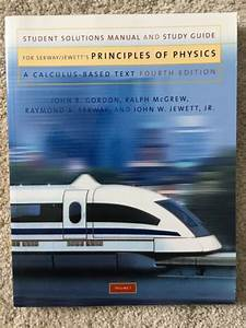 Principles Of Physics Student Solutions Manual And Study
