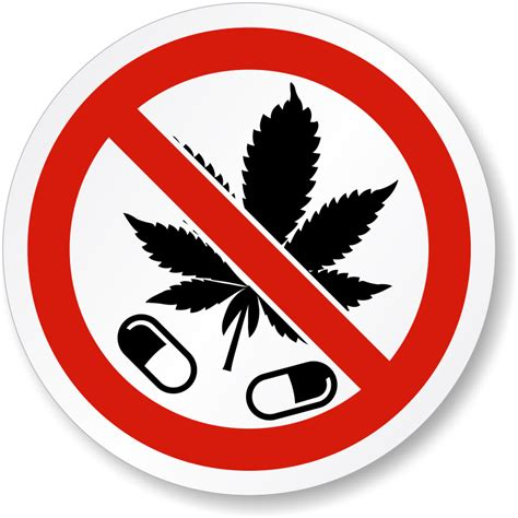 iso  drugs  marijuana leaf label sku lb