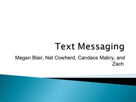 texting powerpoint