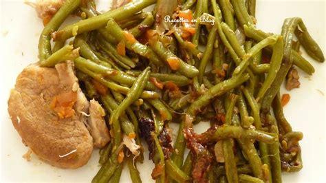 filet mignon de porc et haricots verts a la chinoise