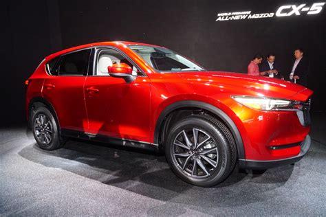 mazda cx  debuts    promised diesel