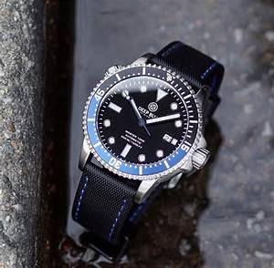 22mm black waterproof band blue stitch b r bands