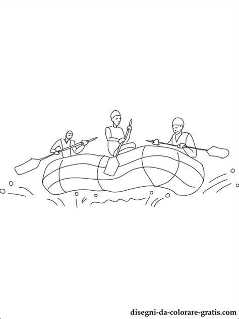 disegno  rafting da stampare disegni da colorare gratis