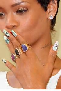 Celebrity inspired nail art designs to give a try hairstyles