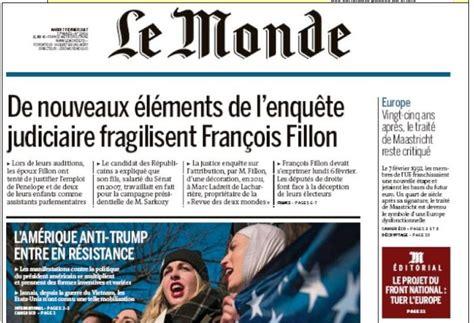 si鑒e du journal le monde post démocratie présidémentielle 2e tour fillon victime d un putsch médiatique 2 2