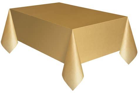 Tischdecke Plastik by Plastik Tischdecke Gold