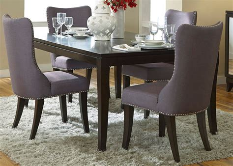 platinum dining room set  grey chairs liberty furniture