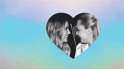 Cara Delevingne Benson Ashley Relationship Glamour Getty