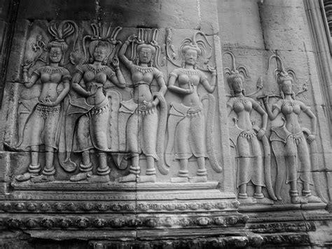 angkor wat wall carvings photo