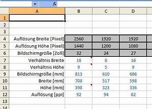 Ppi Berechnen : bildschirm seitenverh ltnis ppi aus aufl sung berechnen codepirat ~ Themetempest.com Abrechnung