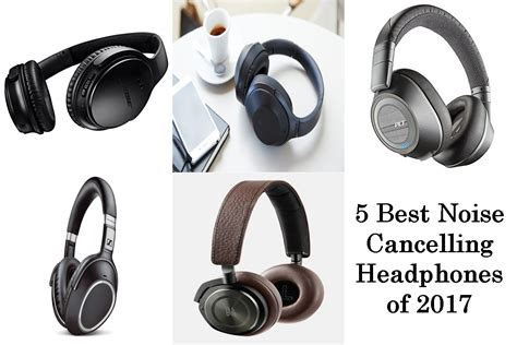 5 best noise cancelling headphones of 2017 techyv