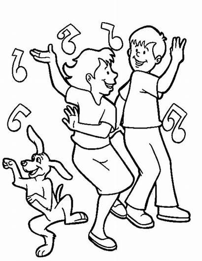 Coloring Pages Dancing Dance Irish Boyfriend Club