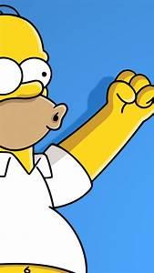 Homer simpson the simpsons wallpaper