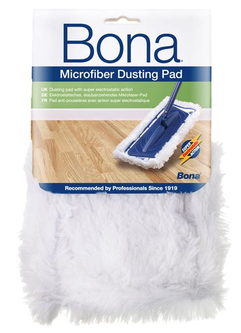 Bona Microfiber Floor Mop Pads by Bona Care Microfiber Dusting Pad Ca101021