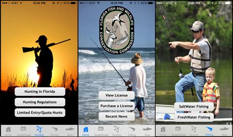 fwc app permit fishing soggy licenses launches grabs smartphone screen wlrn