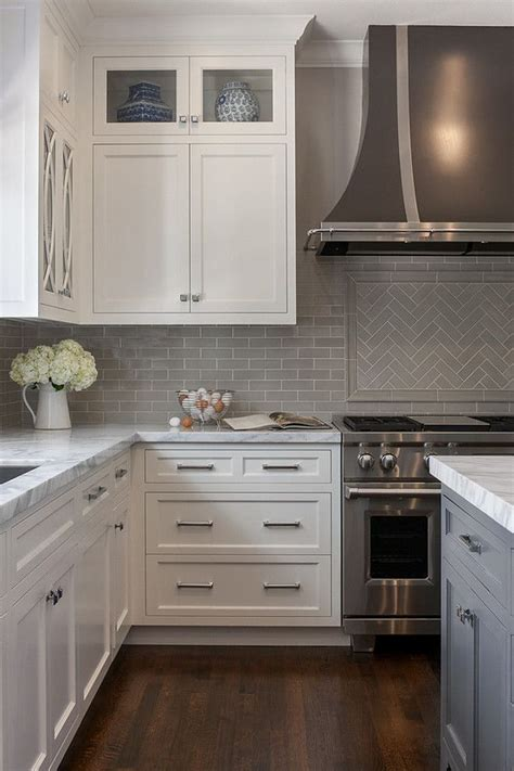 how to do backsplash in kitchen square knobs chrome pulls modern farmhouse 8636