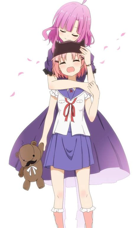 sakura megumi takeya yuki gakkougurashi garotas fofas manga anime  anime