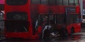 London Bus Explodes In Street Sending Panicked Passengers ...
