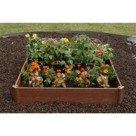 greenland gardener 42 in x 42 in raised bed garden kit