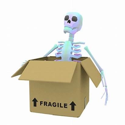 Cardboard Skeleton Fragile Gifs Giphy