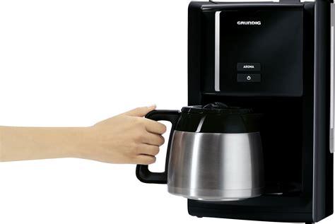 Grundig Km 8280 Kaffeemaschine (gourmet, 1000 Watt, 1, 5 L Isolierkanne), Schwarz