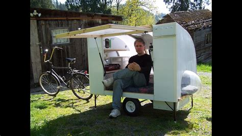 bugout bicycle camper youtube
