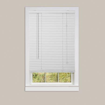 walmart mini blinds vinyl window blinds mini blinds 1 quot white alabaster room