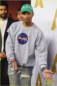 Justin Timberlake & Pharrell Williams Celebrate at Oscars ...