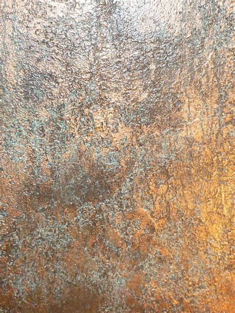 textured bronze patina faux finish home decor and design
