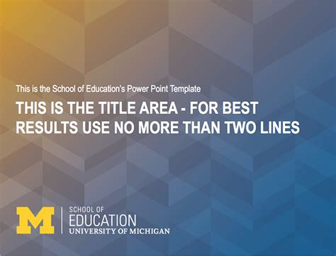 school  education university  michigan